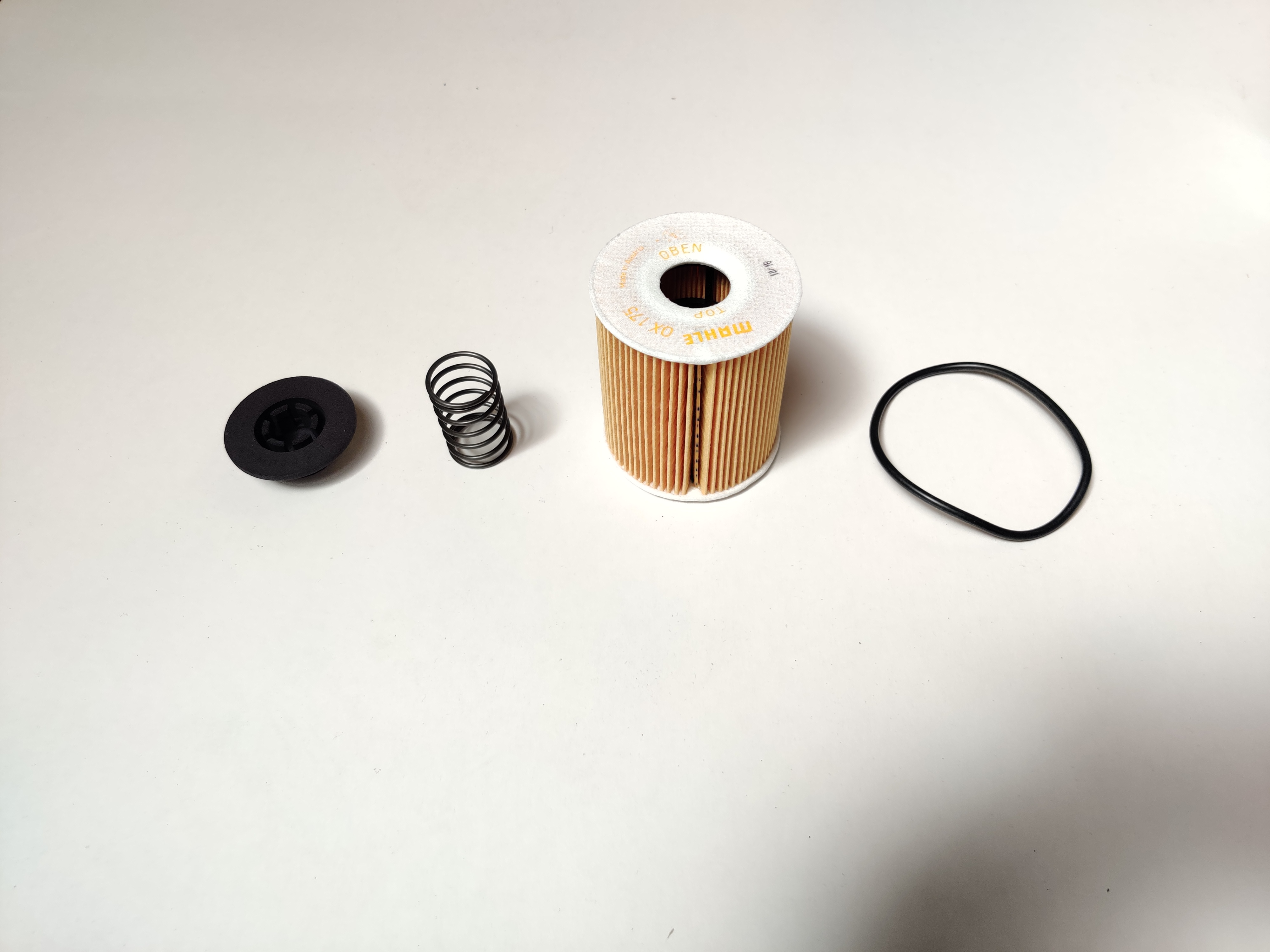 Oliefilter reparatie Mini R50